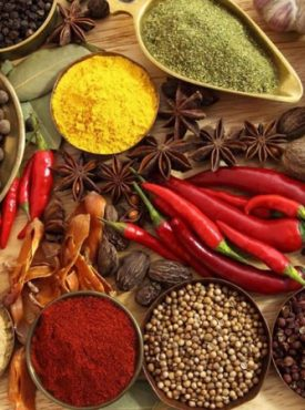 SPICES,MASALAS & ONIONS